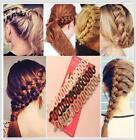 Women Magic Braiders Hair Twist Styling Clip Stick Bun Maker Braid Tools