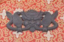 Nepal Legno Intagliato Soprammobile Garuda da Parete Arte Scultura Casa,