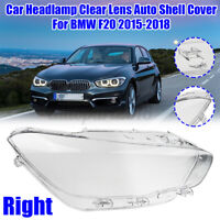 Right Headlight Headlamp Lens Shell Cover Case Clear For BMW F20 2015-2018 125i