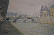 Russian oil cardboard Impressionism Paris Landscape Demidov Alexander п-4