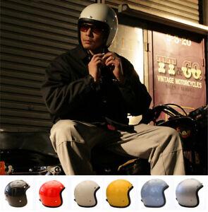 TT&CO 3/4 Helmet FRP 500TX Motorcycle Helmet Vintage Headwear Gift Googles