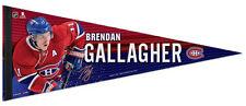 BRENDAN GALLAGHER Montreal Canadiens Signature Series Premium Felt PENNANT