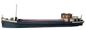 N Scale 1/160 Artitec Resin Kit Rhine River Barge 54.104