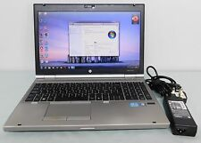 HP EliteBook 8560p i7-2640M 2.80 ghz 4 GB RAM 320 HDD WINDOWS 7 wi-fi webcam 1