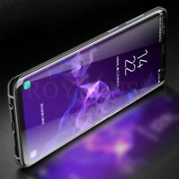 For Samsung Galaxy S8 6D Curved Tempered Glass LCD Screen Protector Black