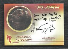 2017 Cryptozoic FLASH Season 2 Autograph Marco Grazzini as Tar Pit MG2