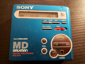 SONY Minidisc MZ-R70 Net MD PLAYER RECORDER Digital Recording MD TESTED WORKS
