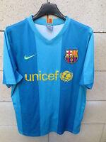 VINTAGE Maillot BARCELONE BARCELONA camiseta NIKE shirt trikot away Barça S