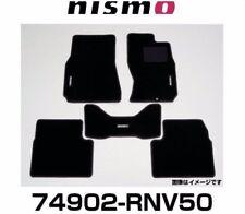 JDM OEM NISMO Floor Mats NISSAN SKYLINE V35 CPV35 -2004 74902-RNV50 GENUINE NEW