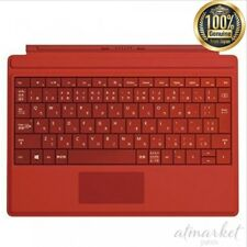 NEW Microsoft Surface 3 Type Cover Bright Red A7Z-00070 genuine from JAPAN