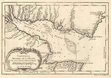 1757 Bellin Map of Rio de la Plata