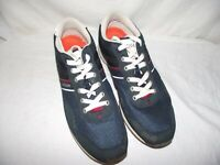 Tommy Hilfiger Mens Size 11 'Marcus' Navy/White Lifestyle Casual Shoes EUC