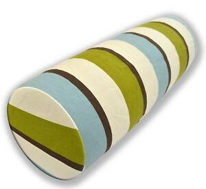 Bolster Cover*A-Grade Cotton Canvas Neck Roll Tube Yoga Massage Pillow Case*LL5