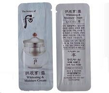 The History of Whoo Gongjinhyang:seol Whitening & Moisture Cream 40ml(1ml*40ea)