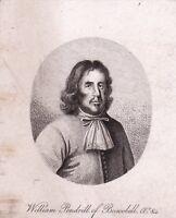 Portrait XIXe William Pendrill Boscobel Shropshire Oak England King Charles II