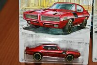 PONTIAC - GTO - 1969 - HOT WHEELS - SCALA 1/55