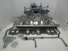 Quick Fuel Brawler 670 CFM Carburetor 289/302 Polished intake /Complete Ford Kit