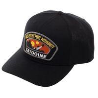 Star Wars Mos Eisley Port Authority Black Snapback Baseball Cap- Deluxe