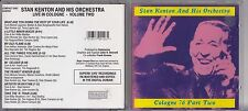 Stan Kenton - Cologne Concert, Vol. 2 Live Recording Jazz CD 1999 jz5.66