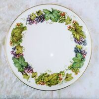 Royal Worcester Round Platter Vine Harvest Fine Bone China  Made in England