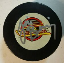 Autographed JIM BENNING Signed Vancouver Canucks Hockey Puck