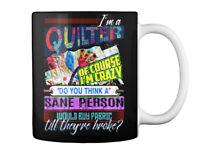Casual Quilting Gift Coffee Mug Gift Coffee Mug