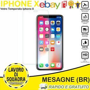 VETRO TEMPERATO IPHONE X - XS - 11 PRO PROTEGGI SCHERMO PROTEZIONE 2.5D 0,3MM 9H