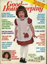 Good Housekeeping Magazine May 1978 15 Spring Recipes, The Promise by Danielle..