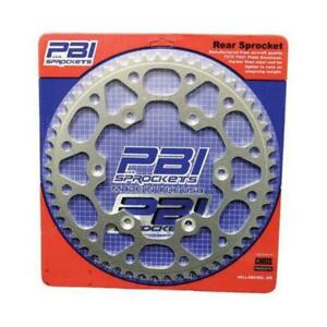 PBI 3355-53-3 Aluminum Rear Sprocket - 53T (Natural)