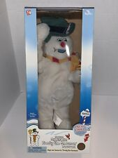 Gemmy Frosty The Snowman Christmas Animated Dancing Spinning Snowflake 18�