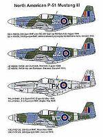 P-51 Mustang Mk I//Ia//III 2.pcs Pavla V72006 1//72 Vacform Avion Auvent N.A