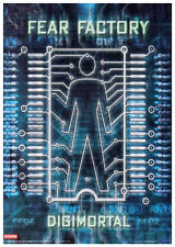 Fear Factory Digimortal Textile Poster Flag New & Official Band Merch