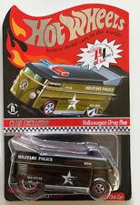Hot Wheels RLC MILITARY POLICE VW DRAG BUS HW Hotwheels RLC Convention
