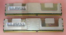 HP Samsung M395T2953GZ4-CE66 2GB (2x1GB) PC2-5300 DDR2-667MHz ECC CL5 Memory