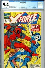 X-Force #11 CGC 9.4 Near Mint 1st Real Domino Marvel Deadpool Appearance 6/92