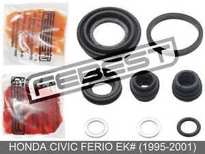 Rear Brake Caliper Repair Kit For Honda Civic Ferio Ek# (1995-2001)