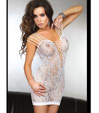 Mini Vestido Reino Unido de Mujer Sexy Lencería Babydoll PARA ROPA INTERIOR CHEMISE 6-10