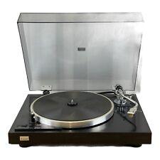 Sansui SR222 MK II Piano Black Belt Drive Record Vinyl Turntable & Groovemaster