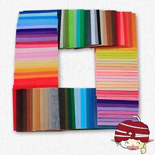 56PCS Assorted Color Wool Felt Fabric Sheets Patchwork Sewing DIY Craft 30*30cm