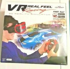 Virtual Reality Car Racing Gaming System Bluetooth Steering VR Real Feel New