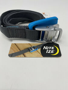Nite Ize CamJam Tie Down Strap 6' Rugged Heavy Duty w/Die-Cast Cam-Lock Buckle