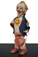 jouet ancien années 70 automate Japonais clown canne