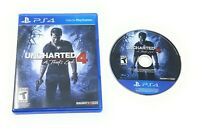 Uncharted 4: A Thief's End (Sony PlayStation 4, 2016) PS4 FAST FREE SHIPPING!!!!