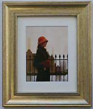 Just Another Day by Jack Vettriano Framed & Mounted Art Print Picture Gold
