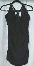 Calvin Klein Swimdress One Piece Halter Black Size 18 NWT