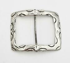 More details for 18th century georgian english sterling silver buckle c1765