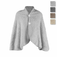 Poncho donna Soffice in Pile sherpa Y469