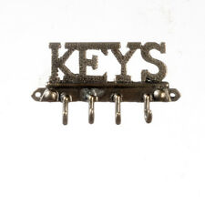 Key Wall Hooks , Doll House Miniature, Hall Wall Decor, DIY Miniatures