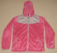Girls The North Face Denali Osito Fleece Hoodie Jacket Youth XL XLarge 18 Pink