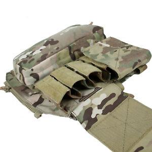 Tactical  Back Pack Pouch Bag Zip Panel for CPC/AVS/JPC2.0 Vest  TMC/COG003